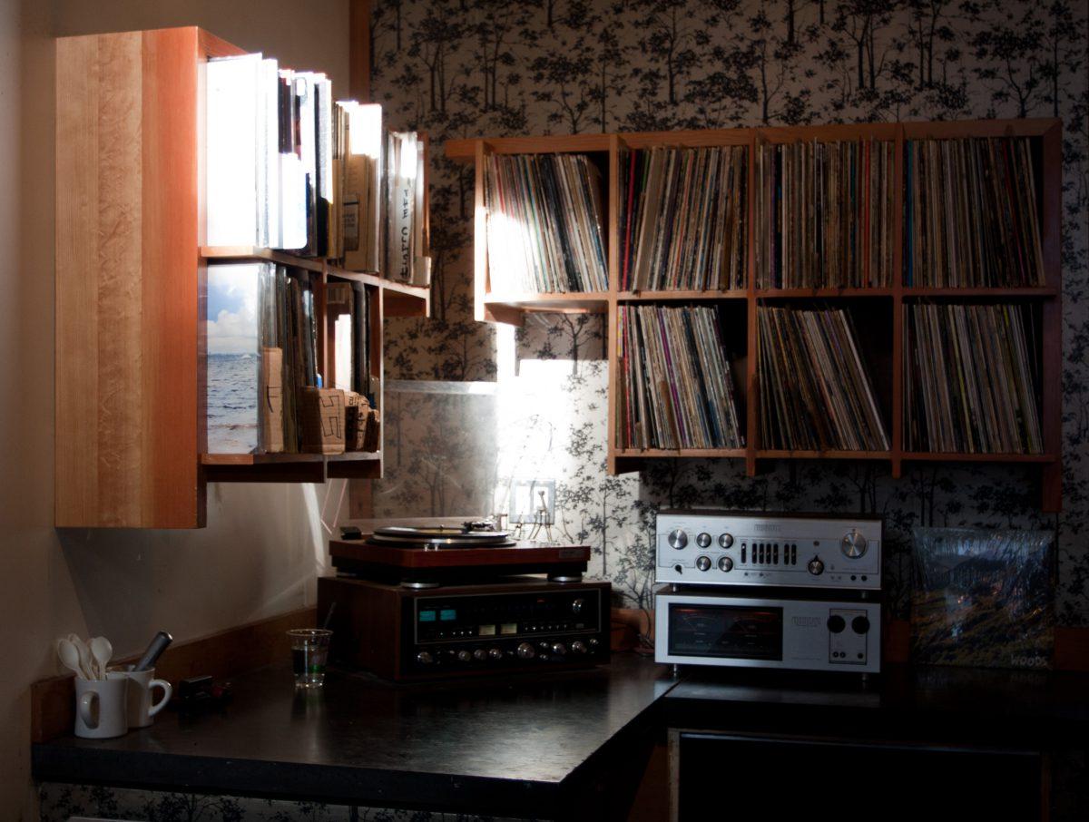 Music corner, music, record, gear