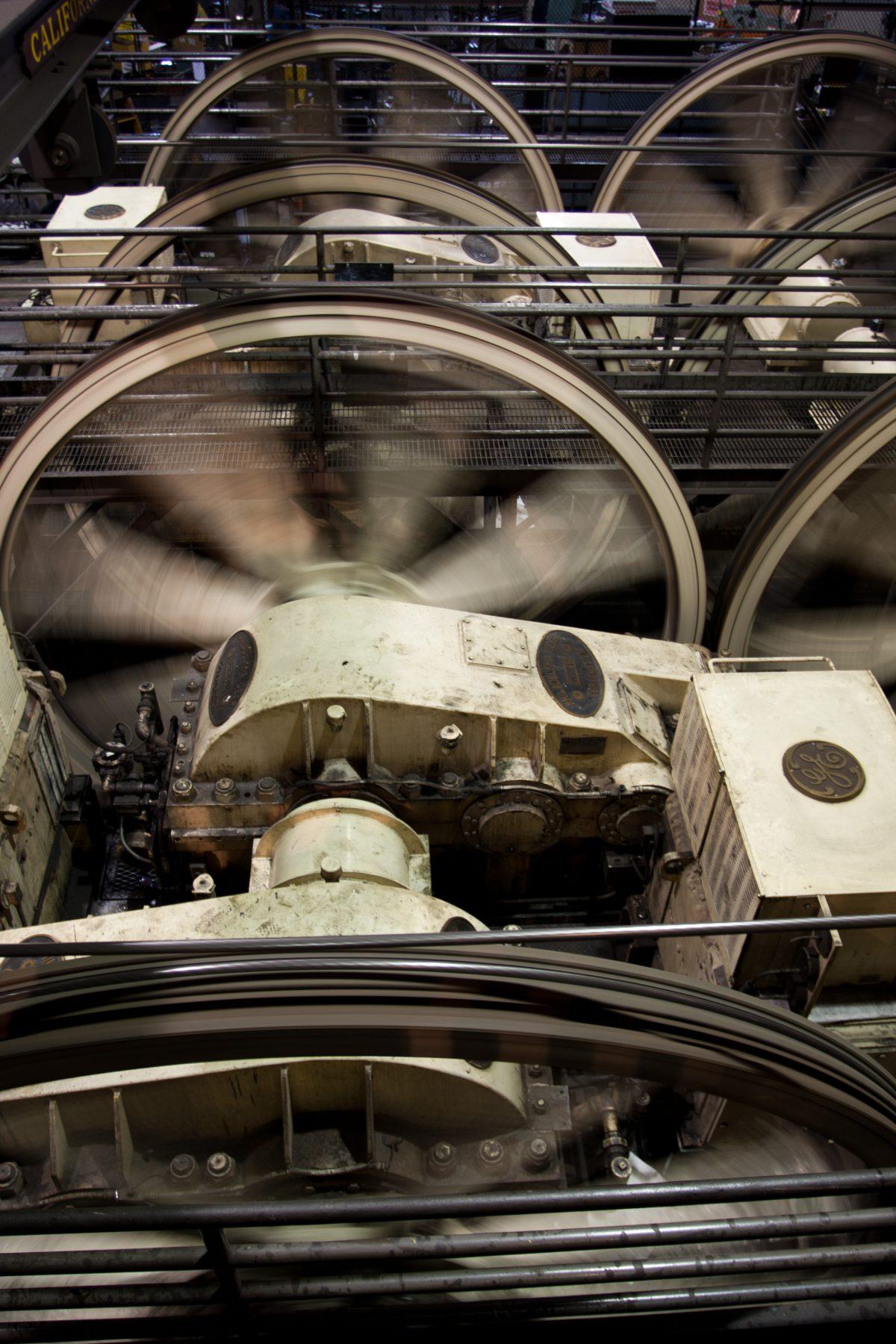 Cable car motors, machine, cableCar