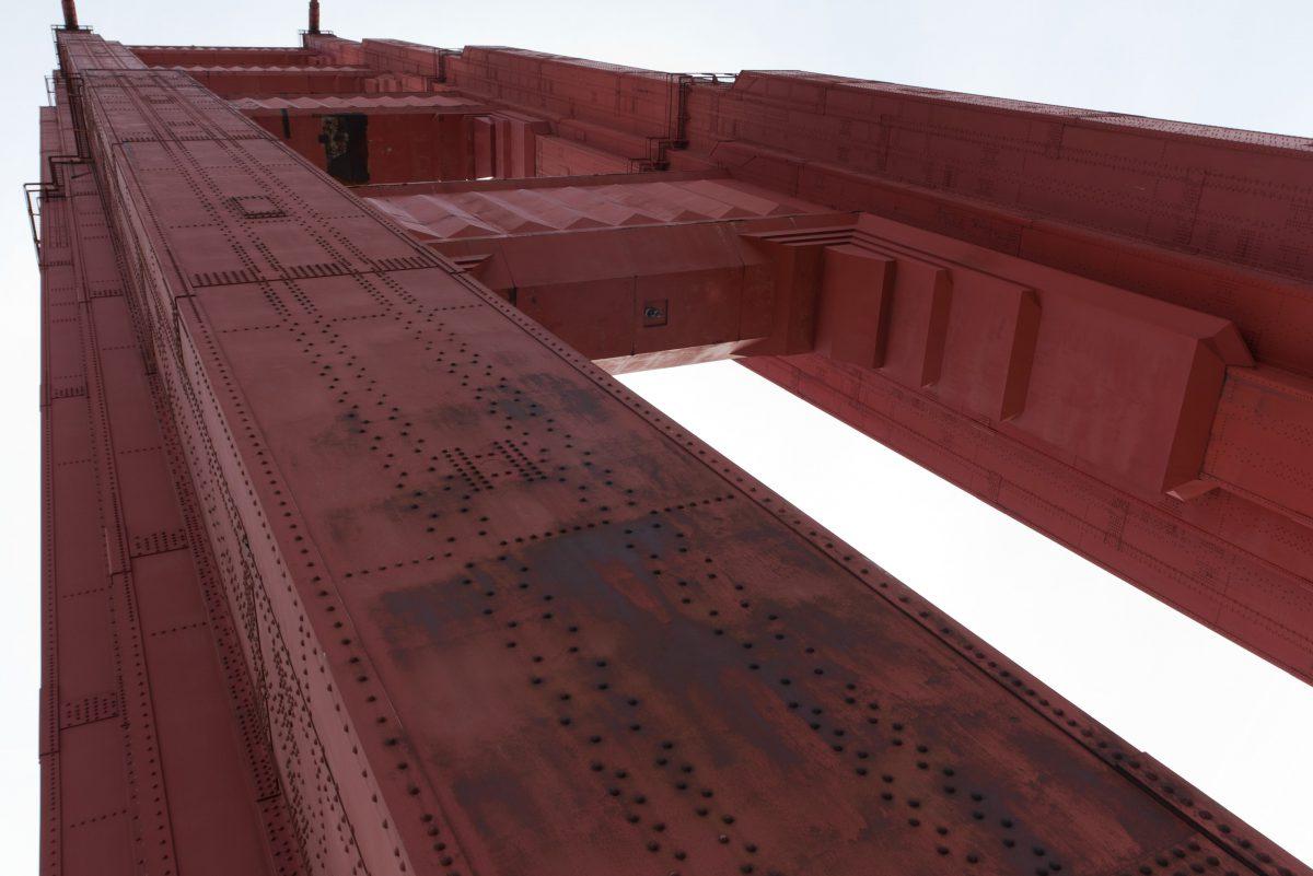 Golden Gate Tower, bridge