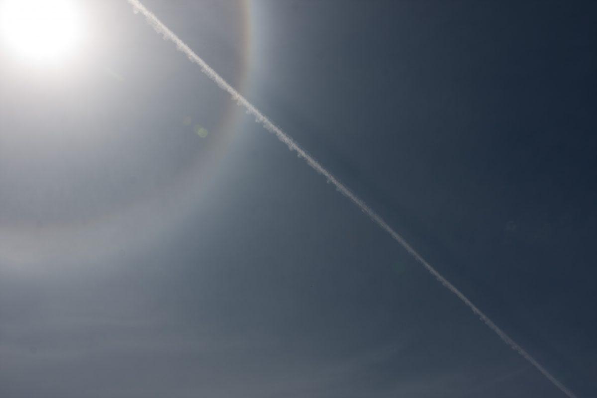Sun, sky, sun, shadow