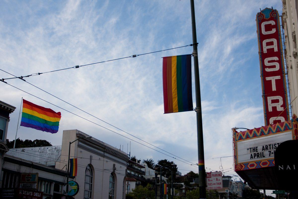 Castro, flag, gay
