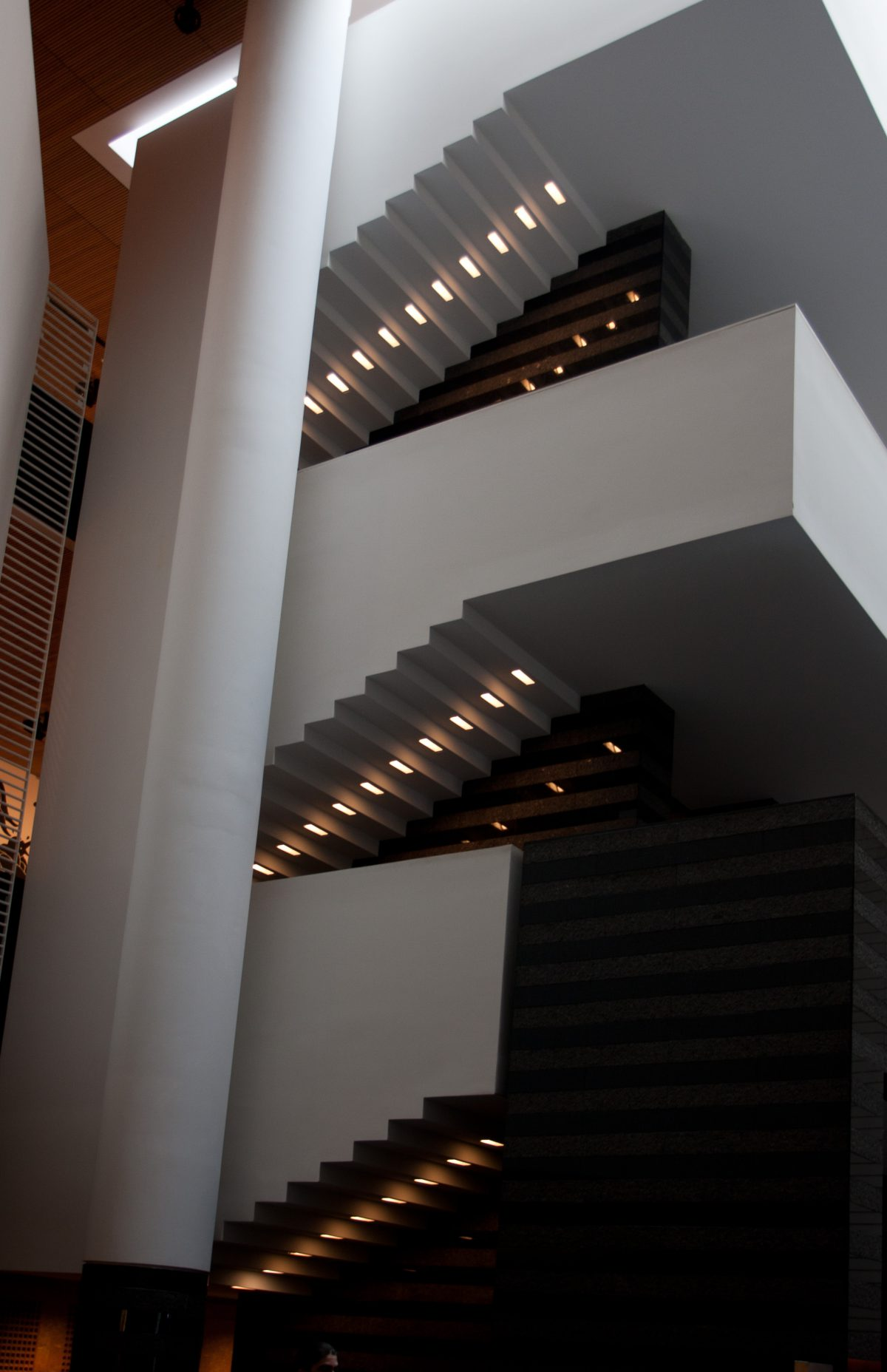 Stairs - At San Francisco Museum of Modern Art, building, stair