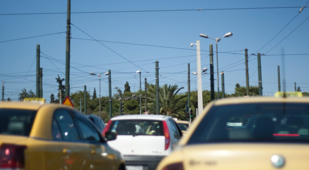 car, street, traffic