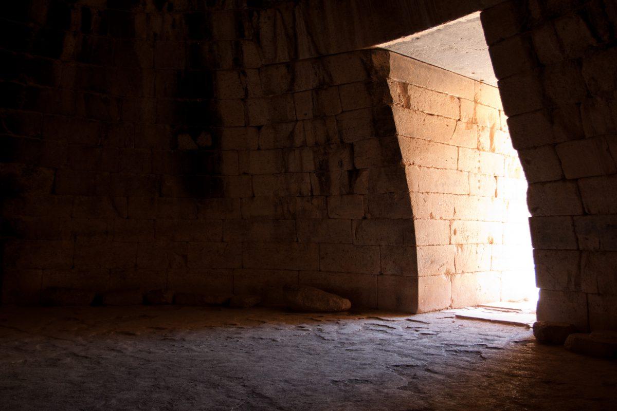 Tomb, door, landmark