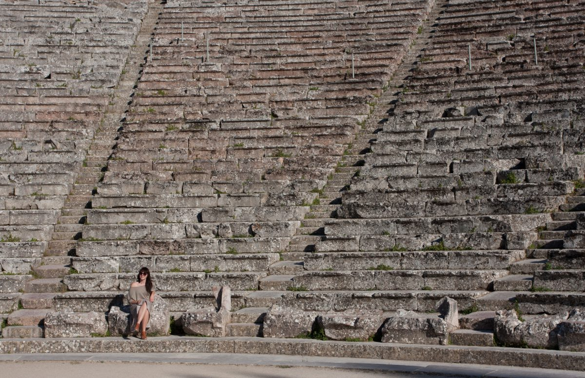 The ancient theater of Epidavros, theater