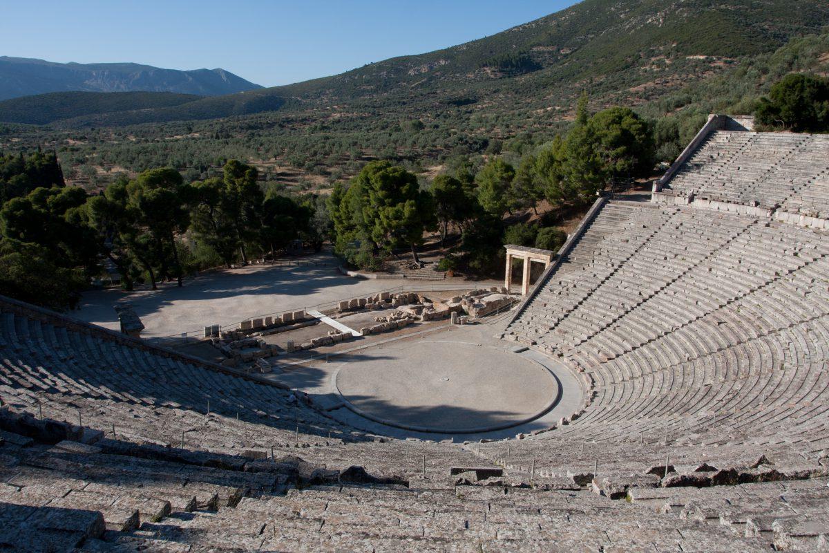 The theater of Epidavros, theater
