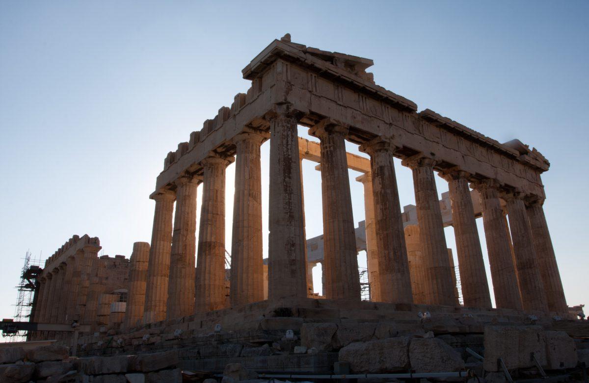 The Parthenon, acropolis, landmark
