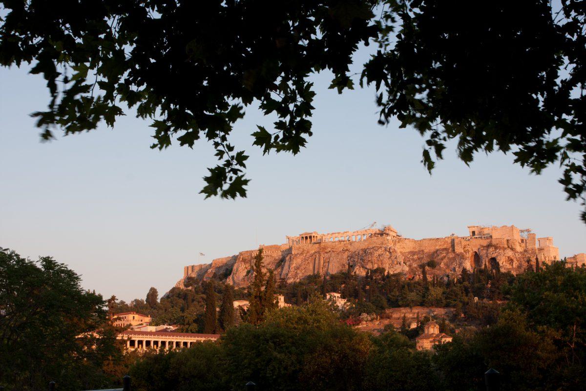 acropolis, landmark