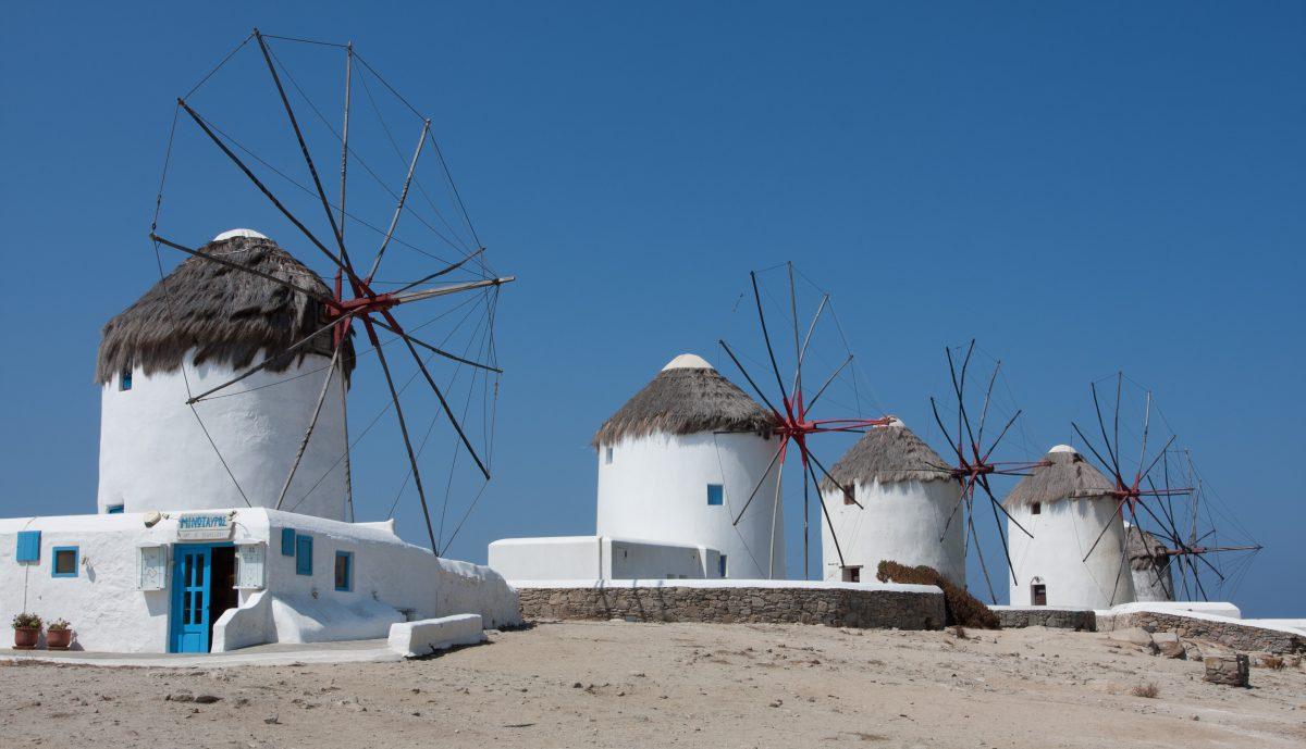 Wind mills, mill