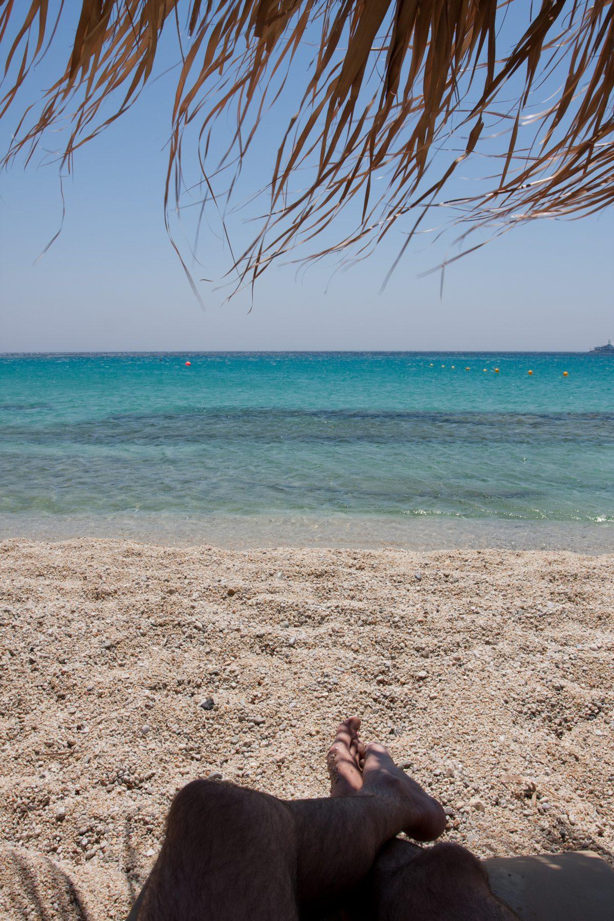 Summer times, sea, beach
