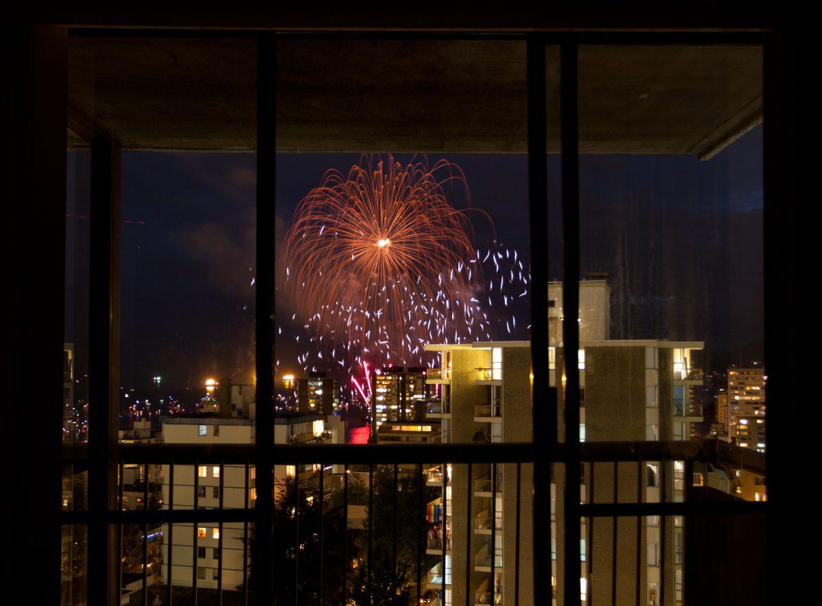 Celebration of Light, firework, night, view