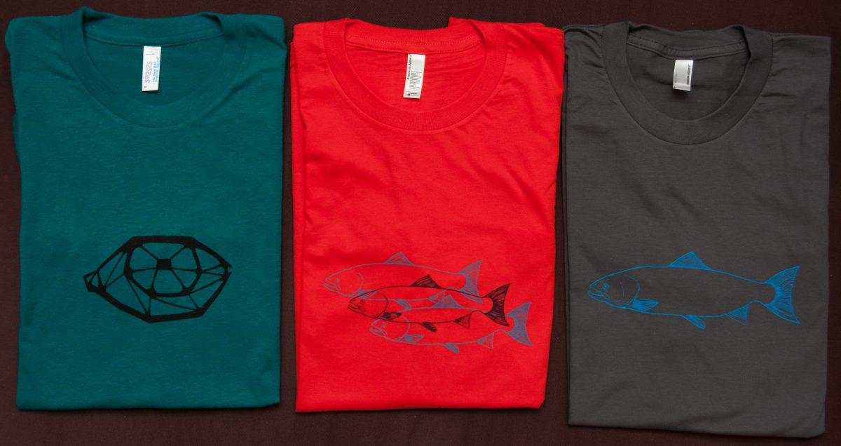 3 tShirts - Silkscreen prints on cotton tShirt, ch3, silkscreen, tShirt, design
