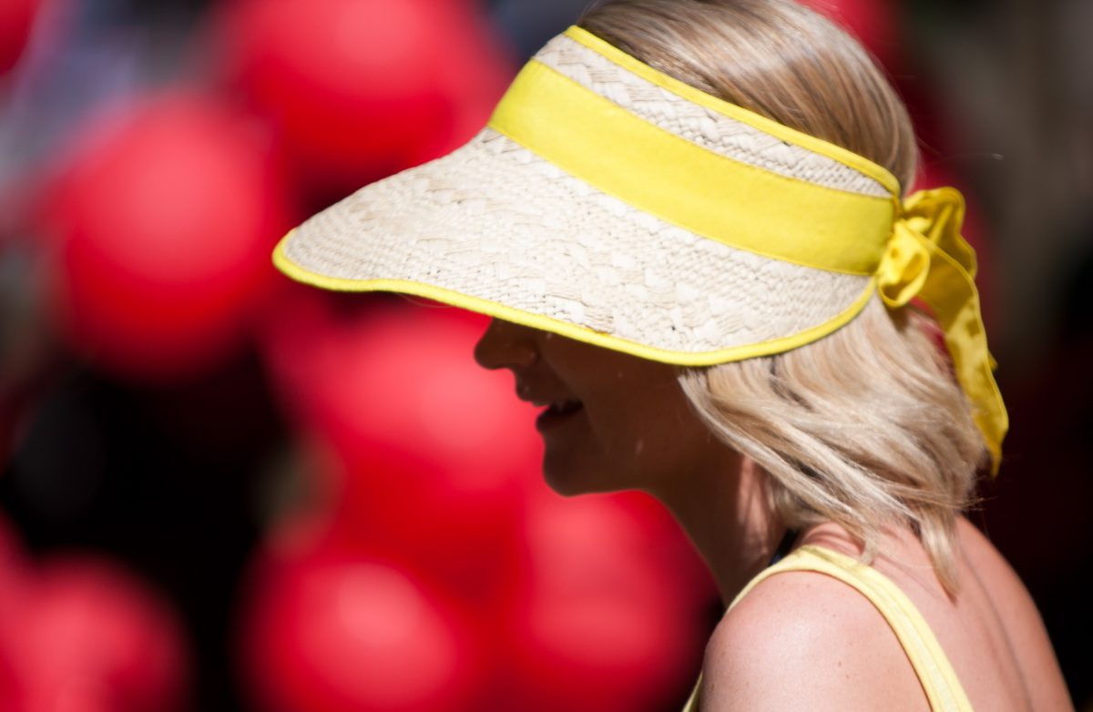 red, ballon, yellow, color