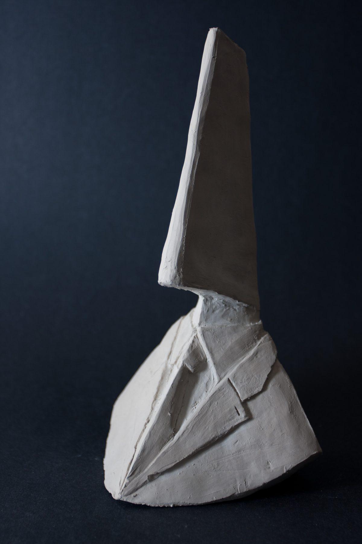 bust - 23cm clay, ch3, clay, bust