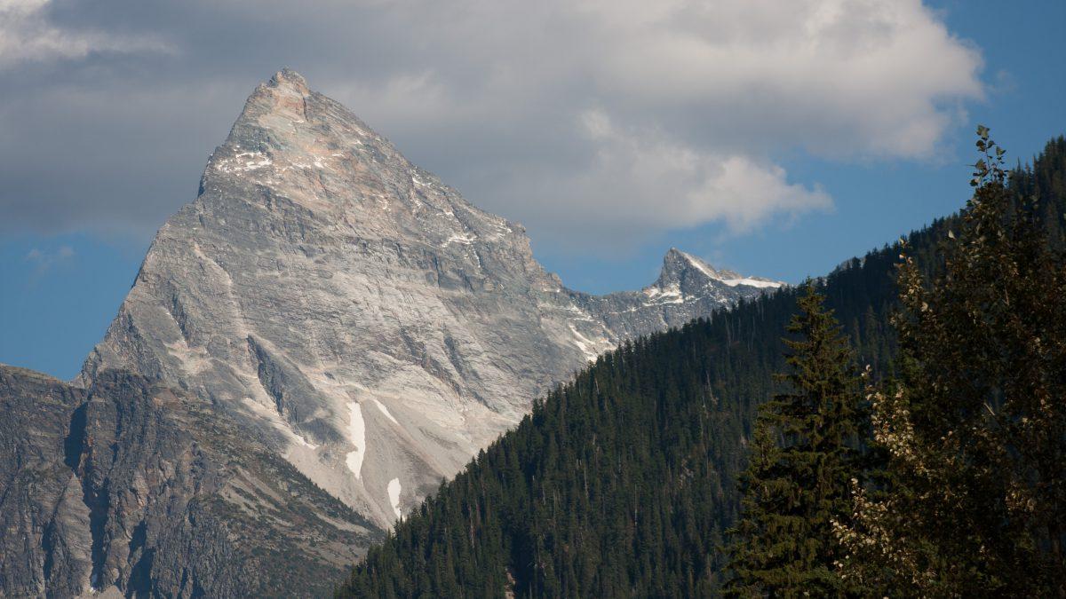 Rockies, mountain, snow, cloud