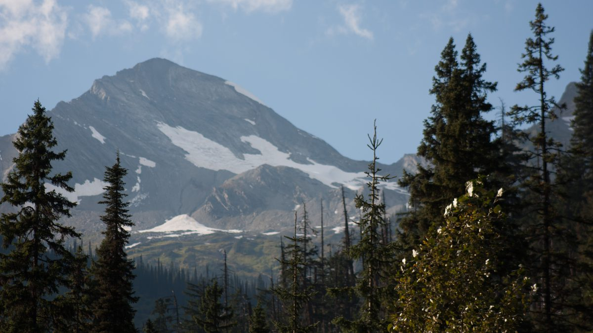 Rockies, mountain, snow