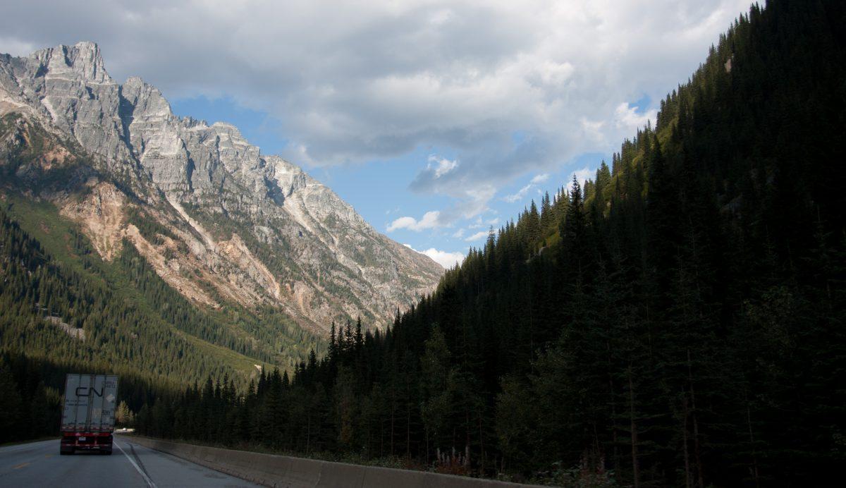 Rockies, mountain, cloud
