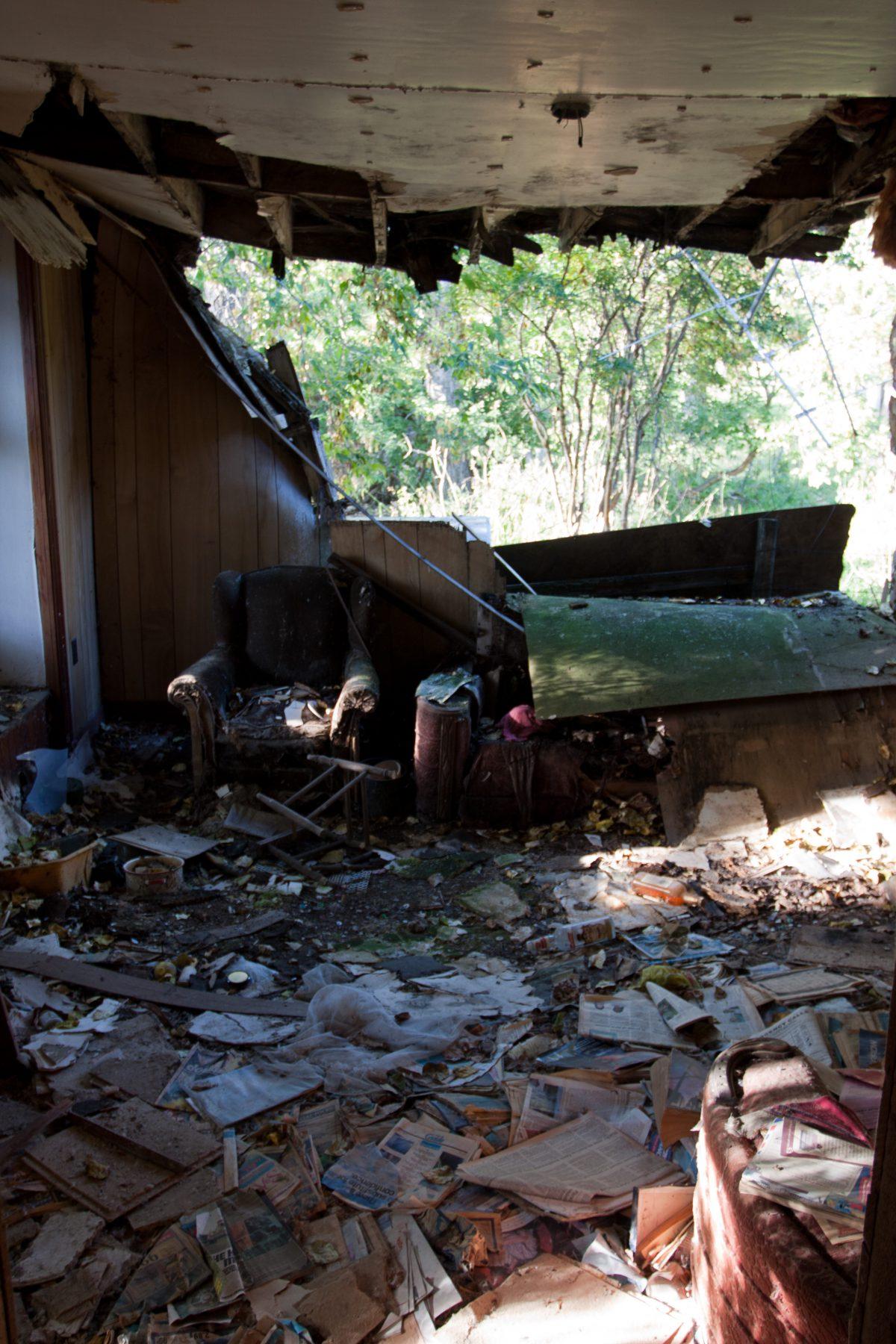 Abandonded, house