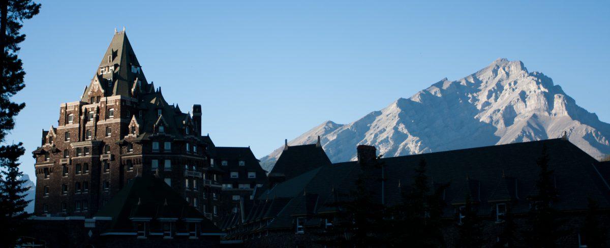 mountain, hotel