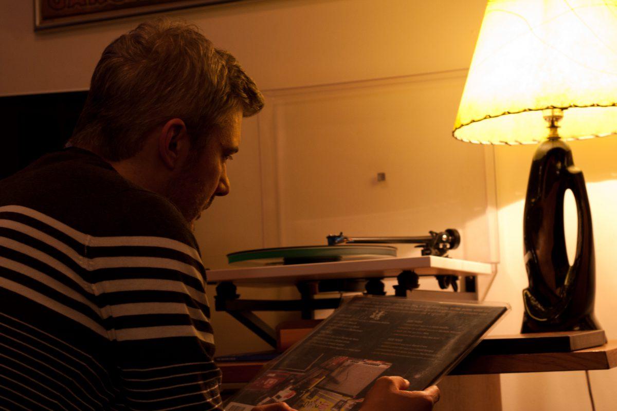 Jason, turntable, portrait, light