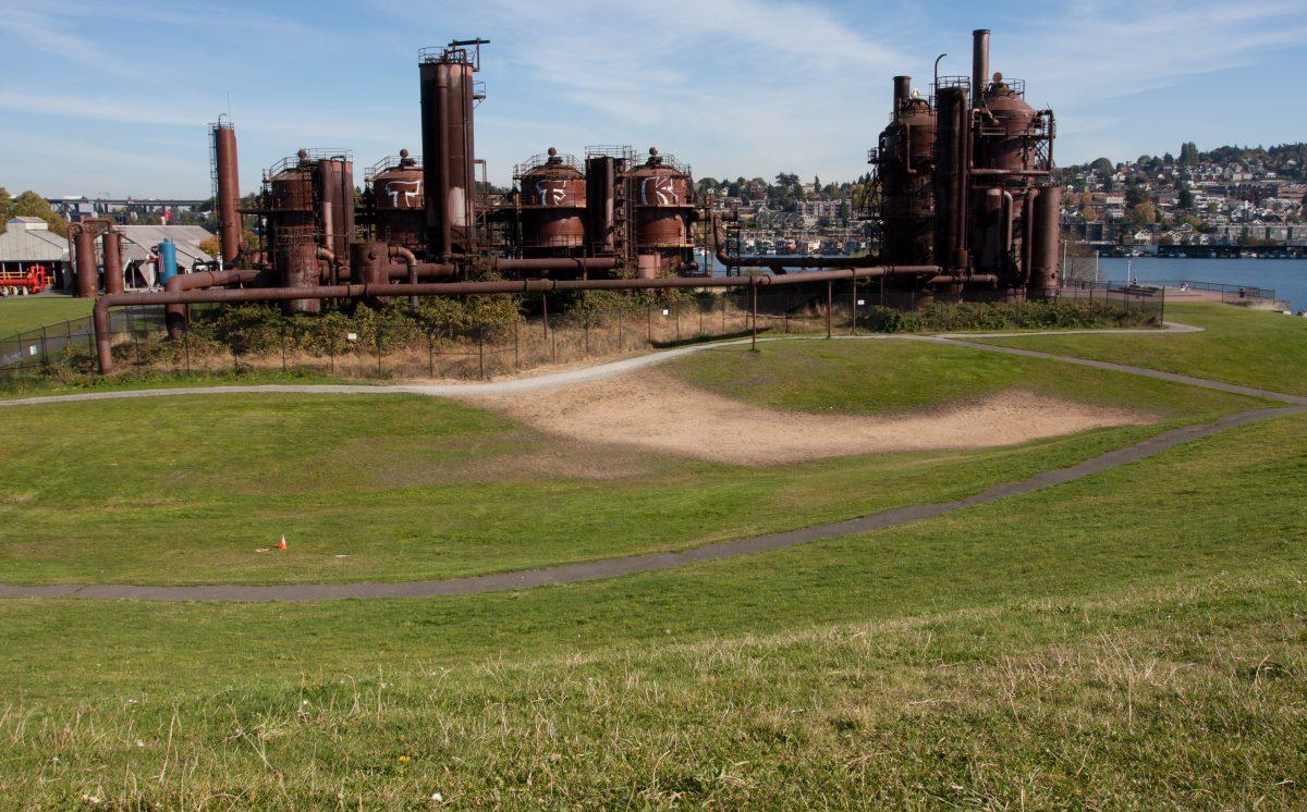 Gasworks, rust