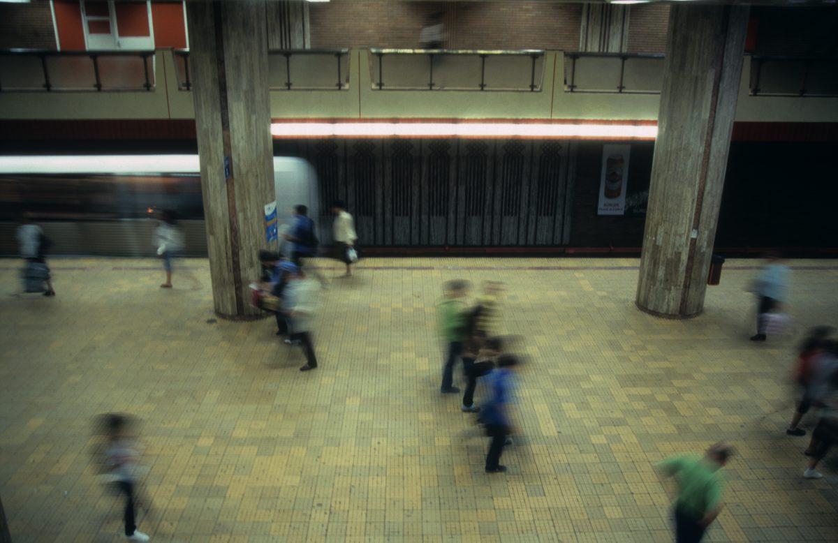 underground, people