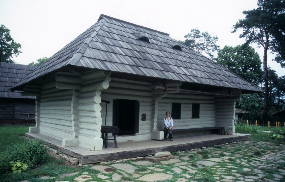 Village Museum - A mesuem with houses from all around the country, building