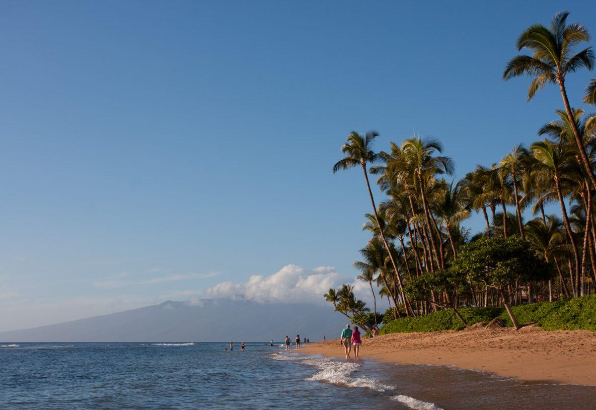 Lahaina Beach, sea, beach
