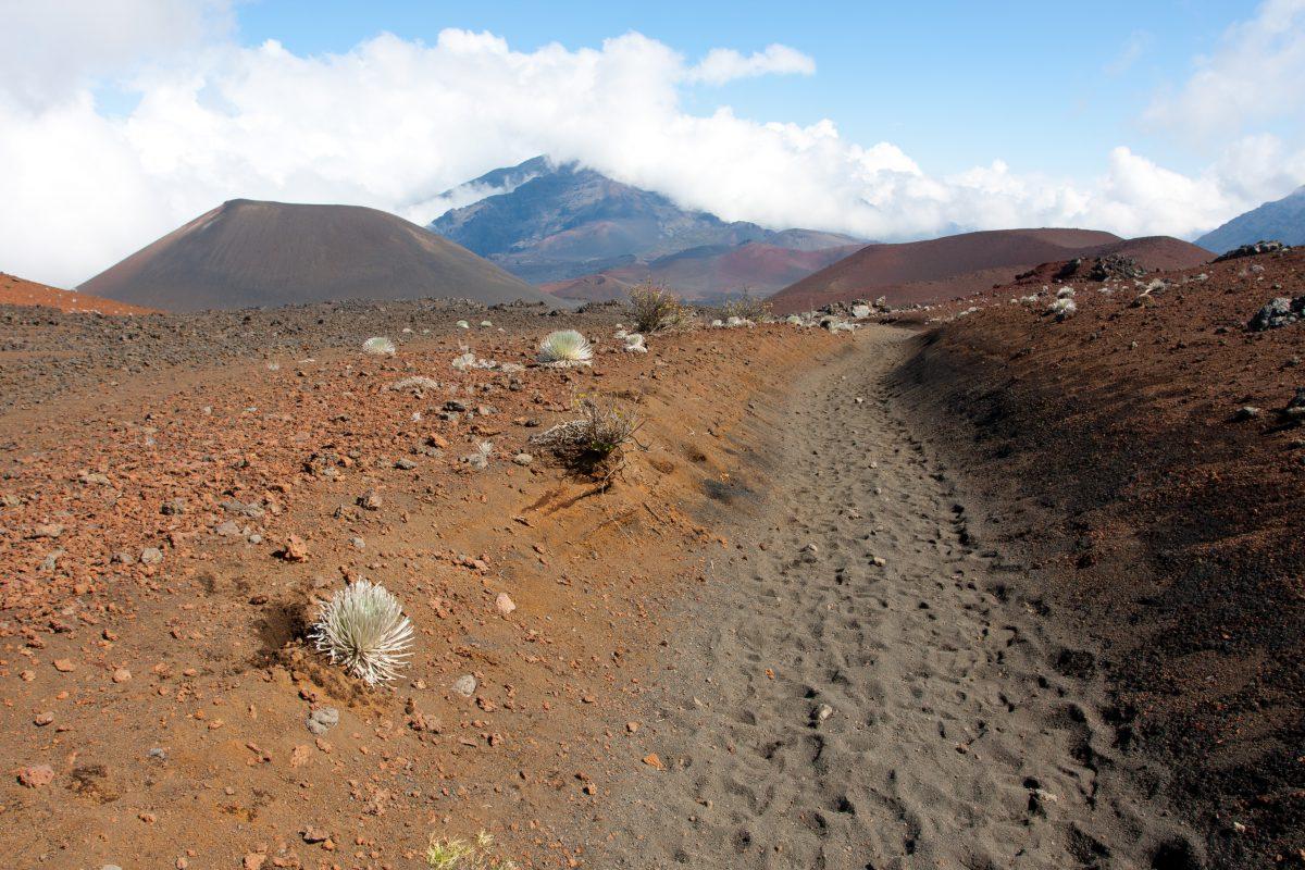 Haleakala, volcano, trail