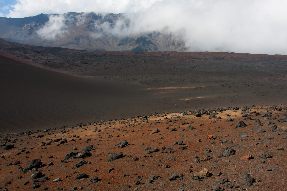 Haleakala, volcano