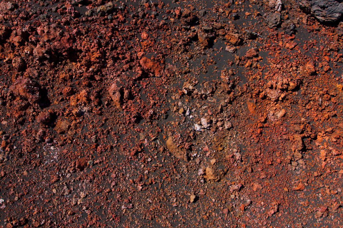 Haleakala, volcano, rock, texture