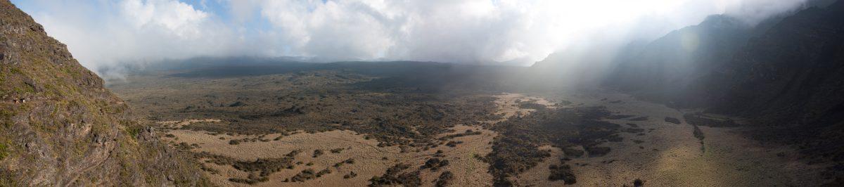 Haleakala, volcano, view