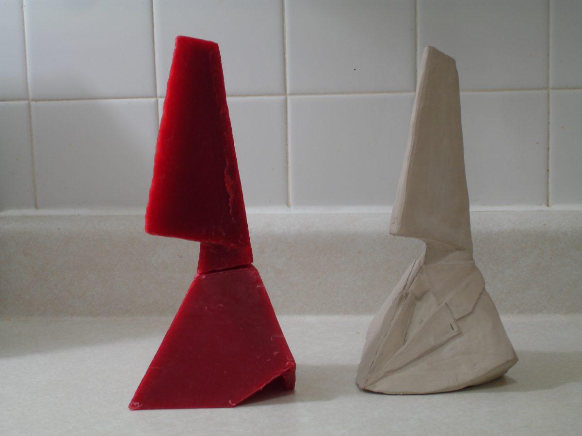 Divider - wip - Add the neck, ch3, sculpture, process