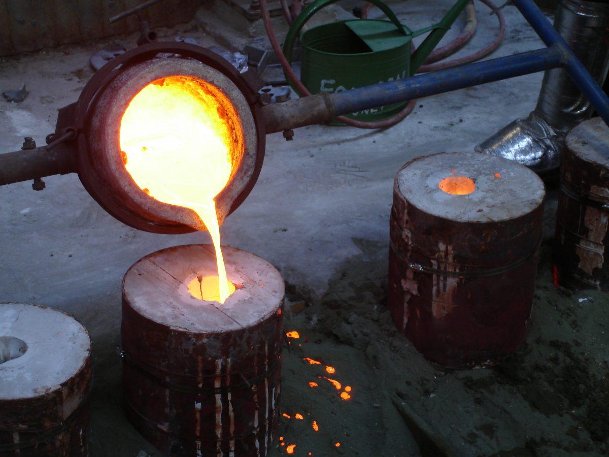 Divider - wip - Spill some bronze, ch3, sculpture, process, bronze