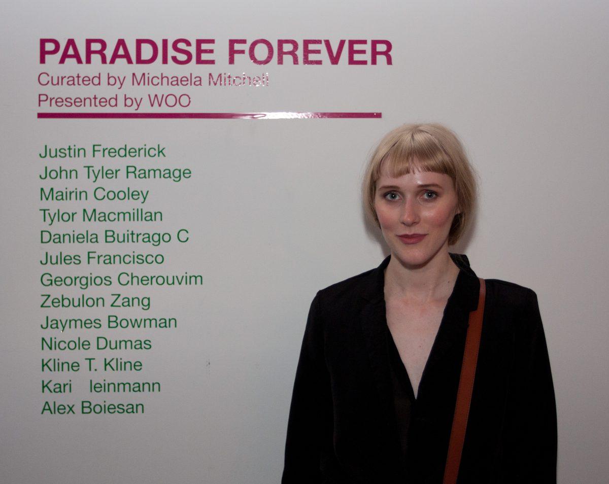 Emily Carr Grad Party 2013 - Michaela Mitchell, portrait, people
