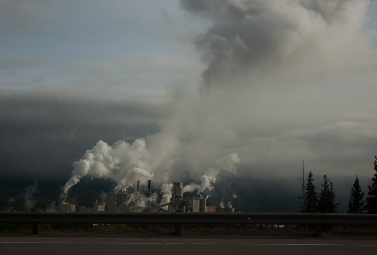 industrial, smoke