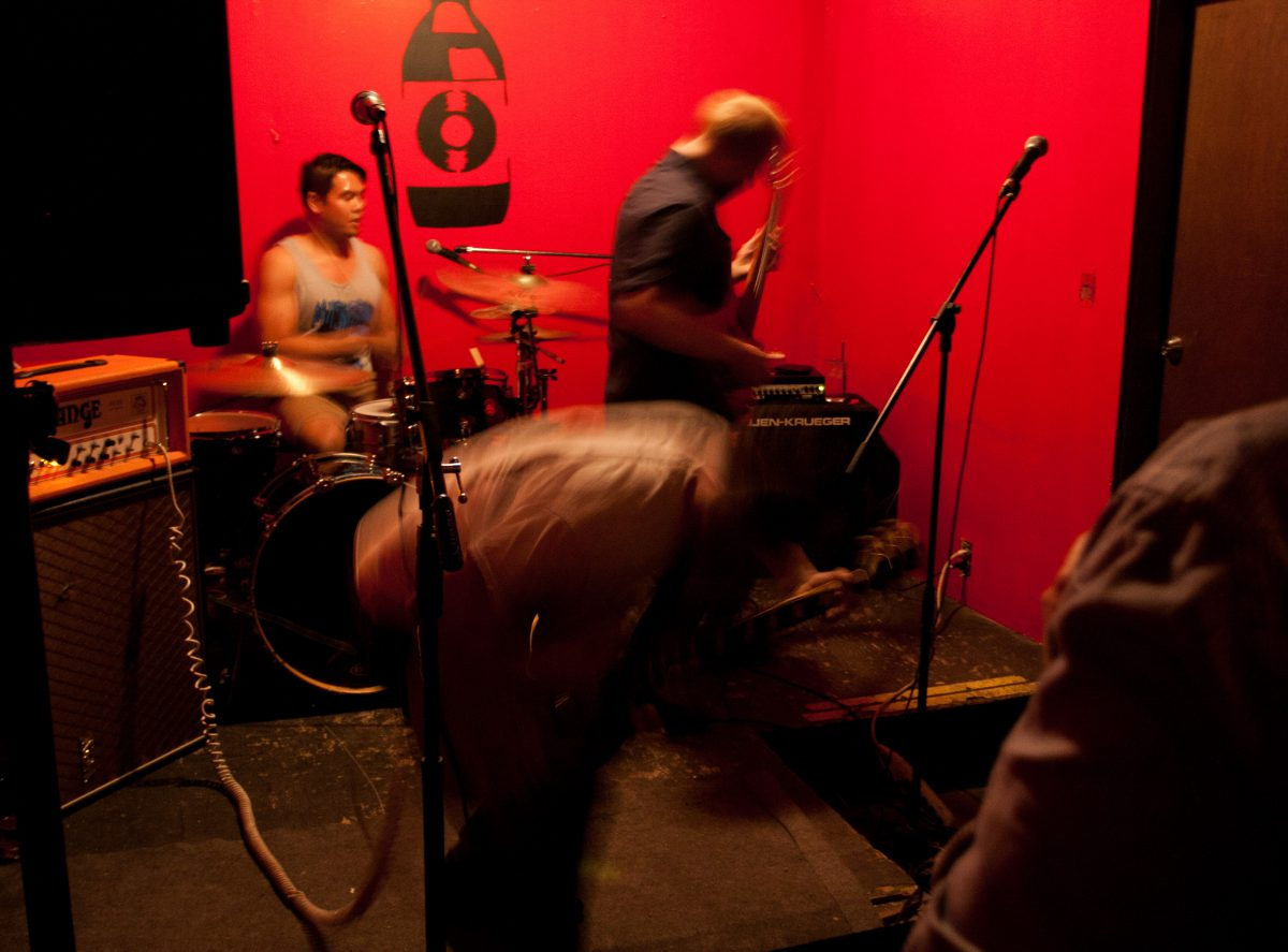 desiderata - at Wunderbar - Edmonton, venue, bar, guitar, drums, gig