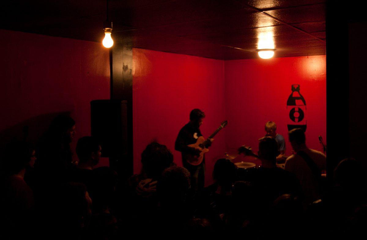 Gary Debussy - at Wunderbar - Edmonton, venue, bar, guitar, gig