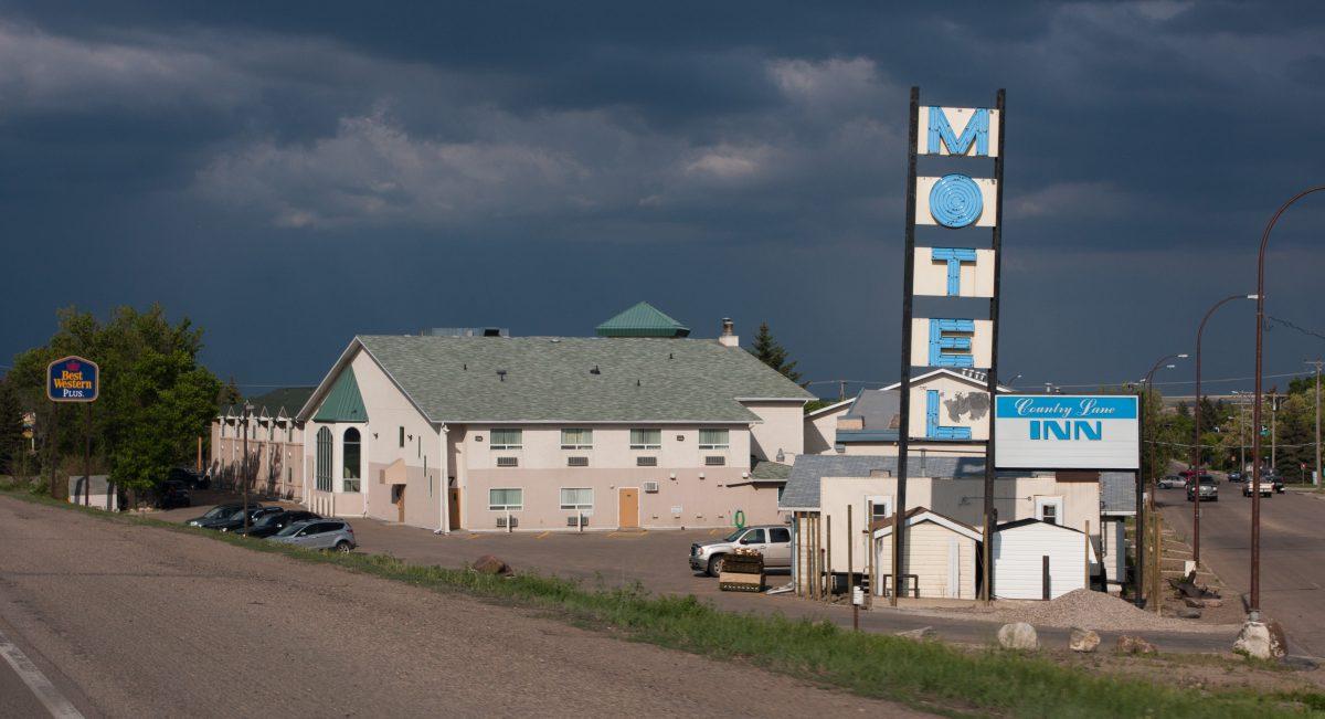 motel, road