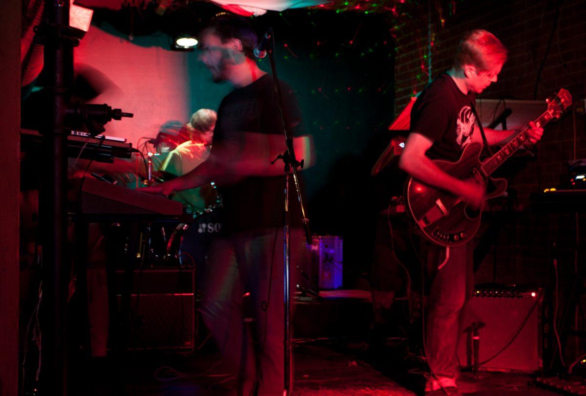 Robot Hive - at Rocks Bar & Grill - Regina, venue, bar, guitar, drums, gig