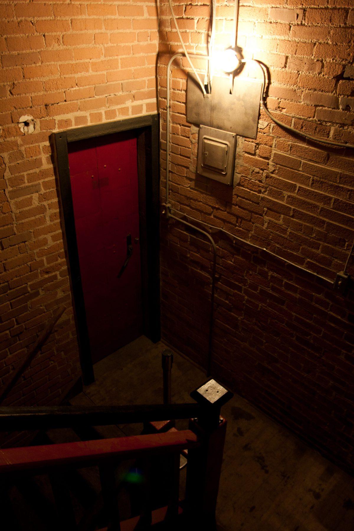 venue, bar, door