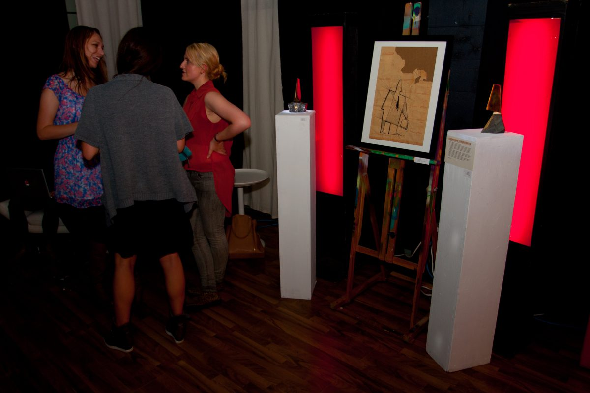 At The Beaumont Studios, sculpture, ch3, event