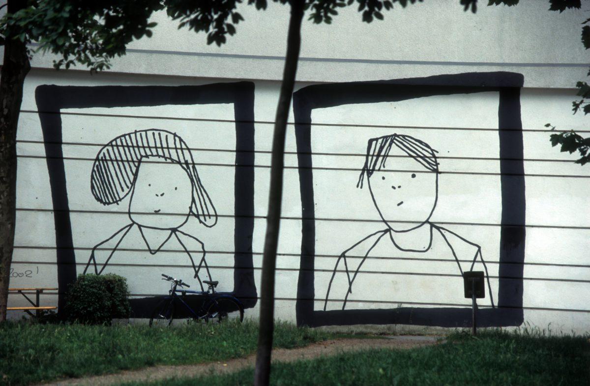 Line work, graffiti