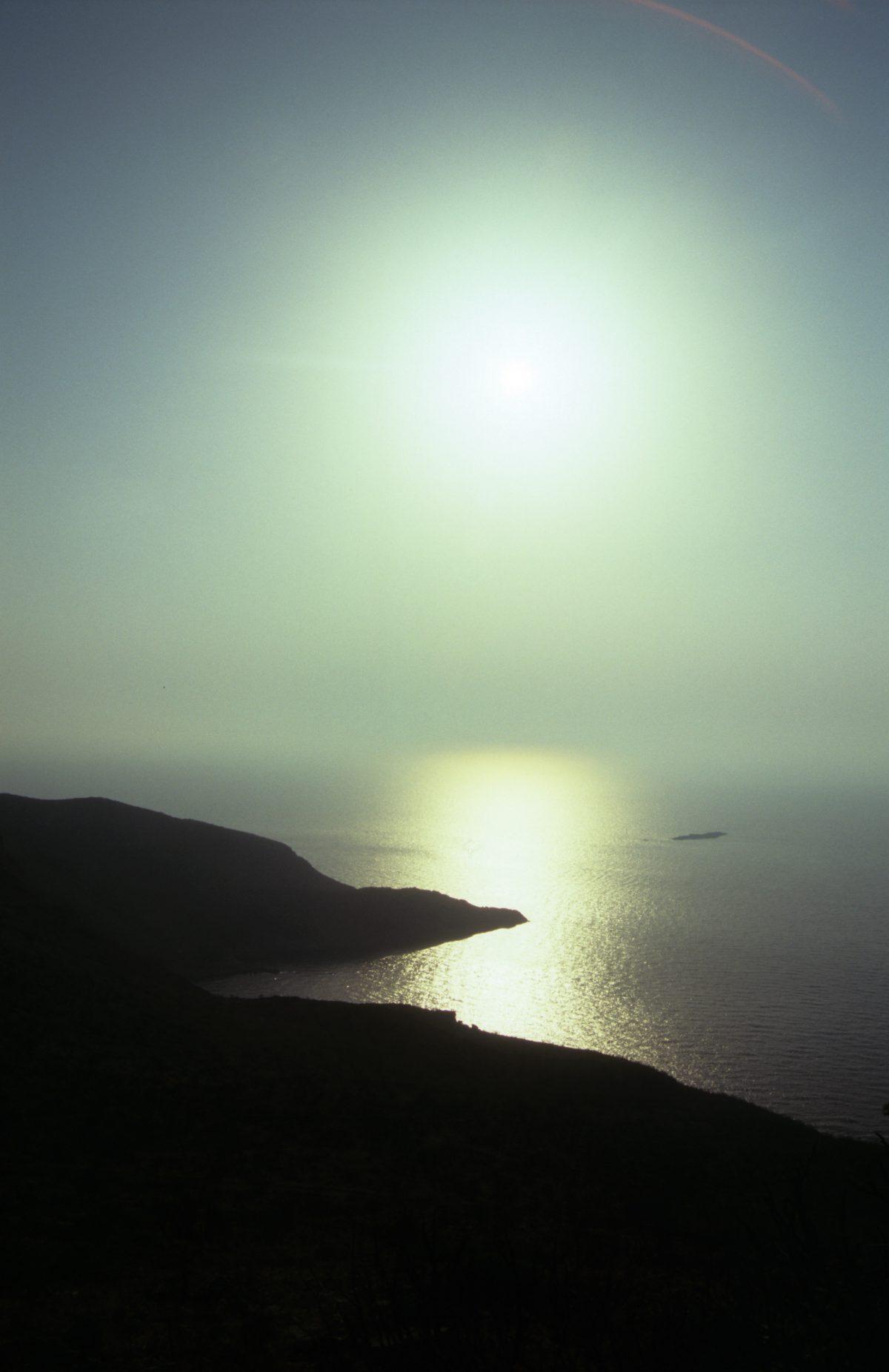 sea, sun, sky, constrast