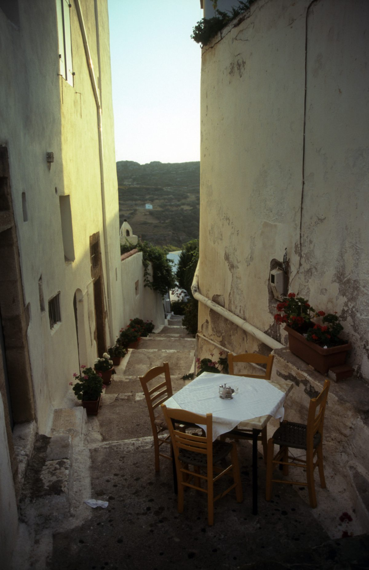 restaurant, alley
