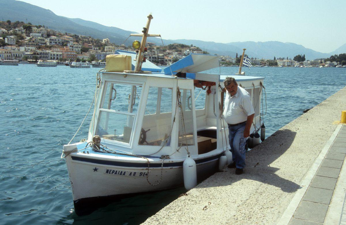 male, boat, sea