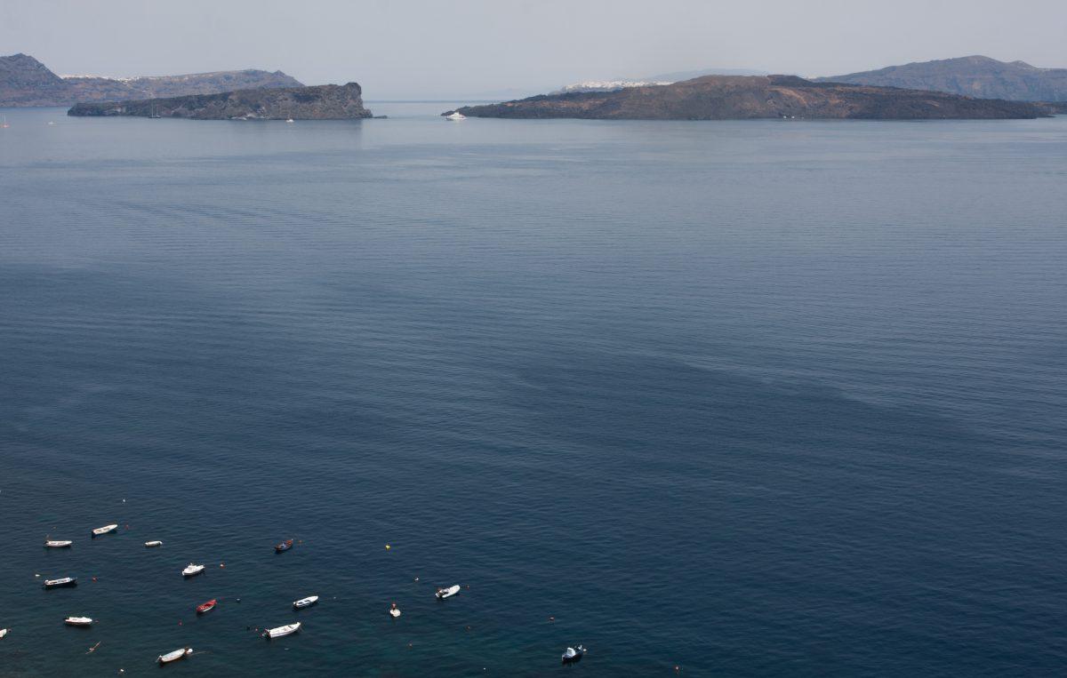 sea, view, boat