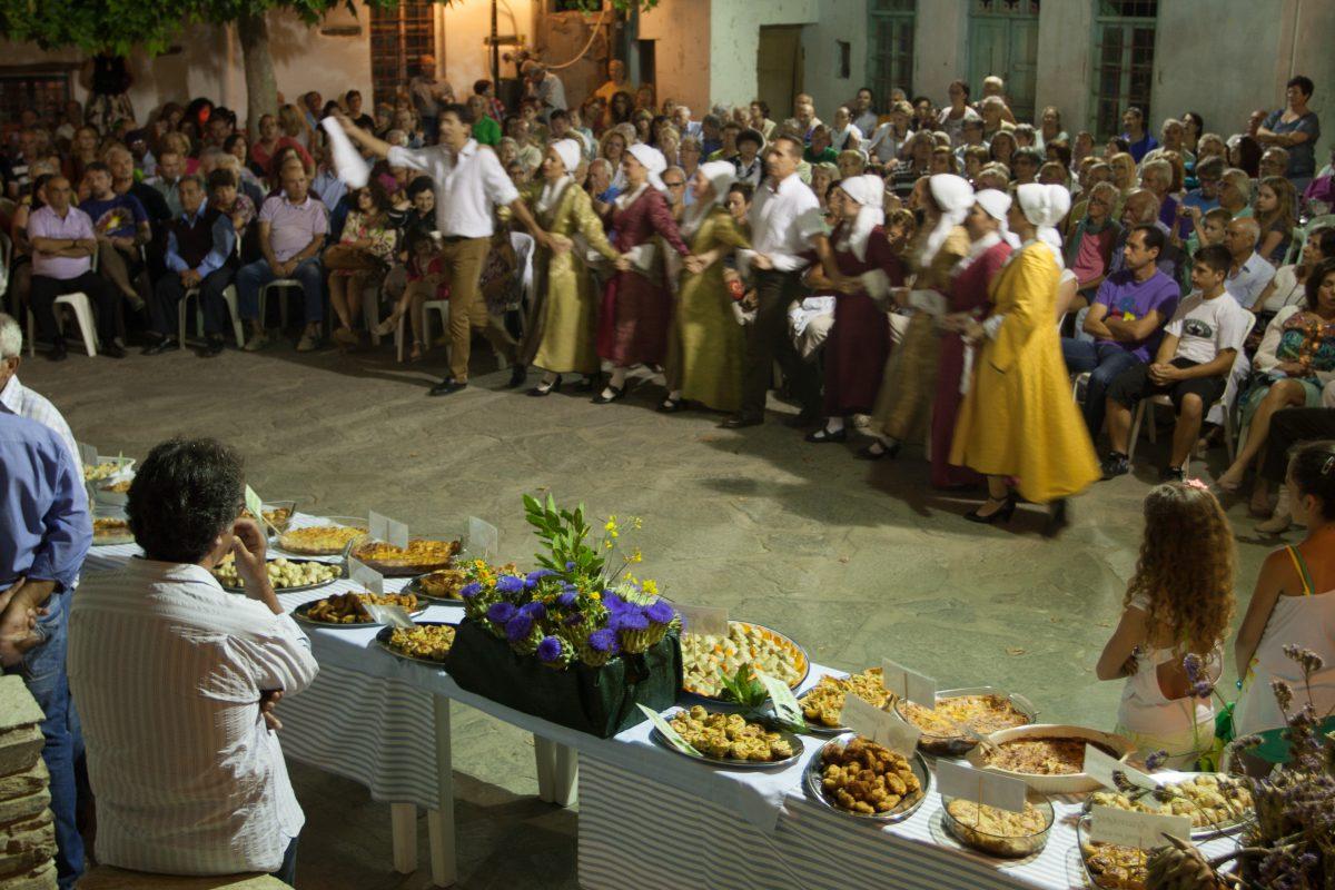 village, food, event, people