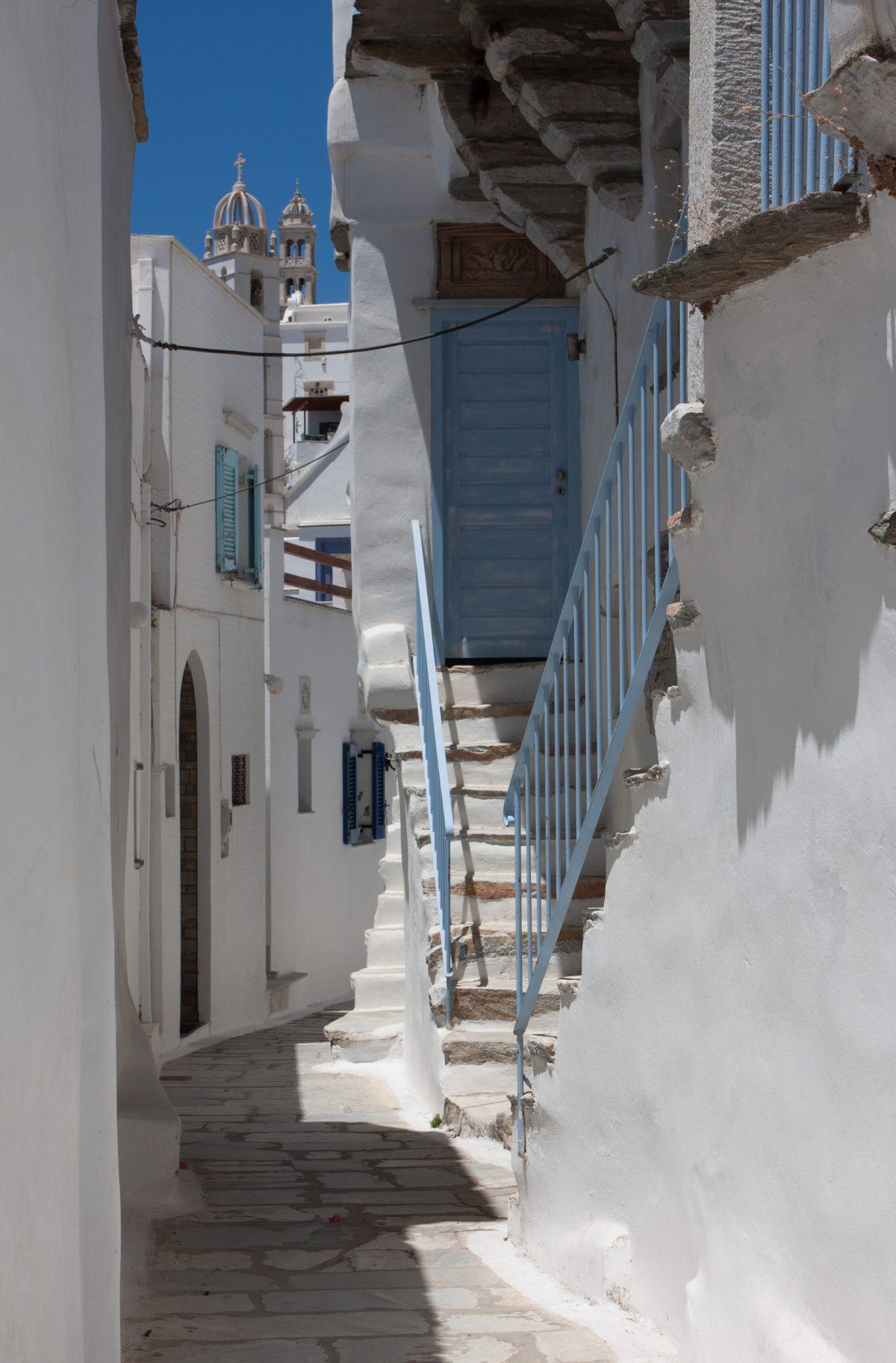 building, village, alley