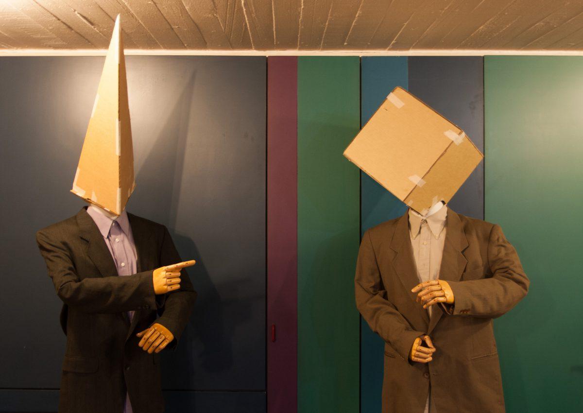 First test heads, process, mannequin